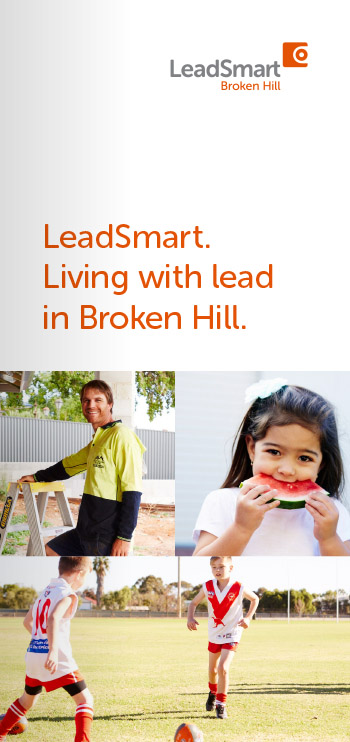 Download the Living with lead in Broken Hill brochure as a PDF